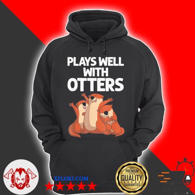 2021 otter design for men women sea otter wild pet mammal s hoodie