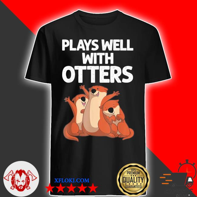 2021 otter design for men women sea otter wild pet mammal shirt