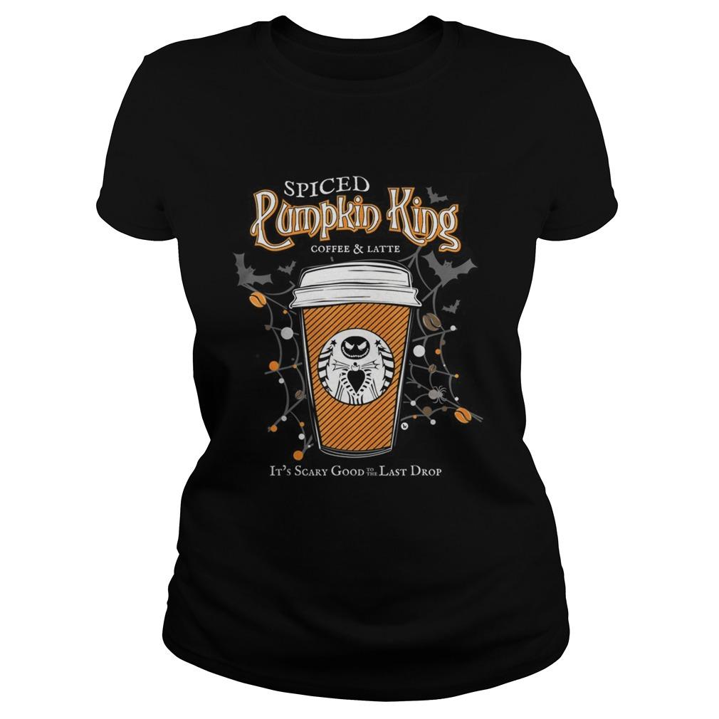 Spiced Pumpkin King Coffee Scary Good Fun Fall Classic Ladies
