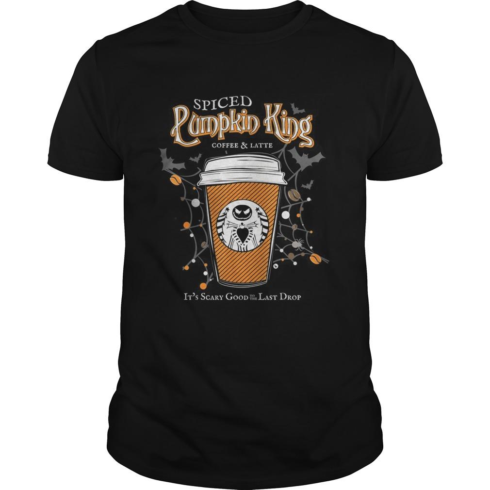 Spiced Pumpkin King Coffee Scary Good Fun Fall Unisex