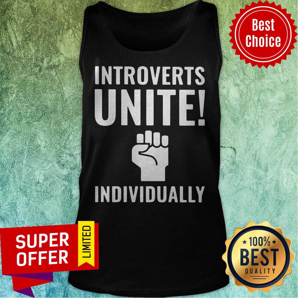 Awesome Introverts Unite Individually Tank Top