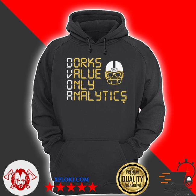 Dorks value only analytics dvoa football outsiders s hoodie