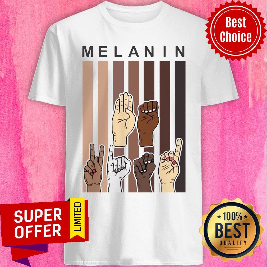 Funny Melanin Hands Shirt