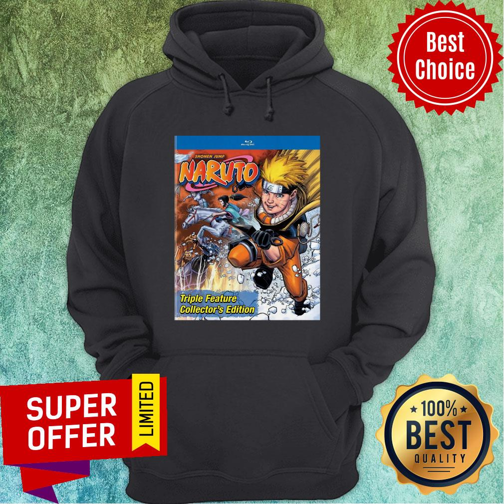 Funny Shonen Jump Naruto Triple Feature Collector's Edition Hooodie