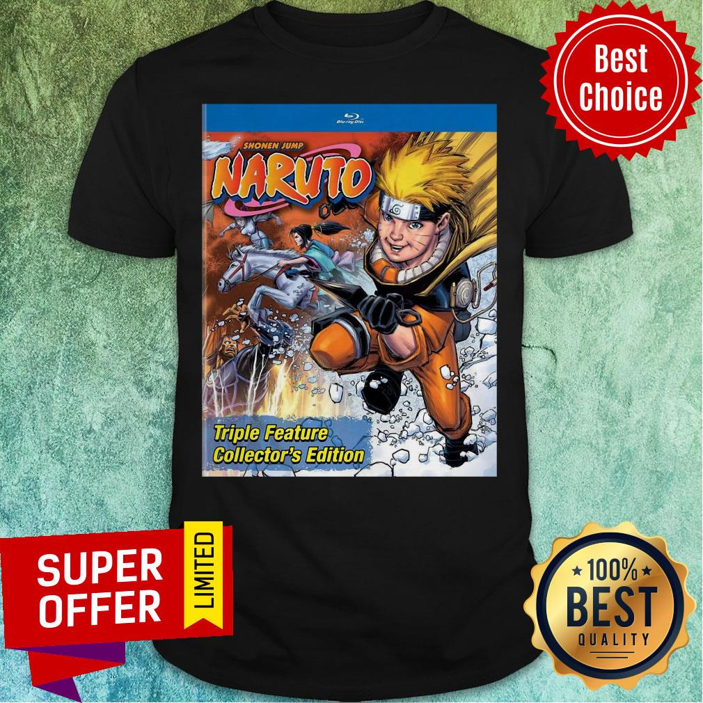 Funny Shonen Jump Naruto Triple Feature Collector's Edition Shirt