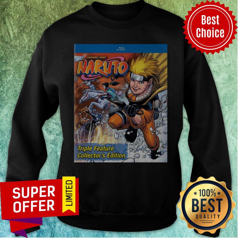 Funny Shonen Jump Naruto Triple Feature Collector's Edition Sweatshirt