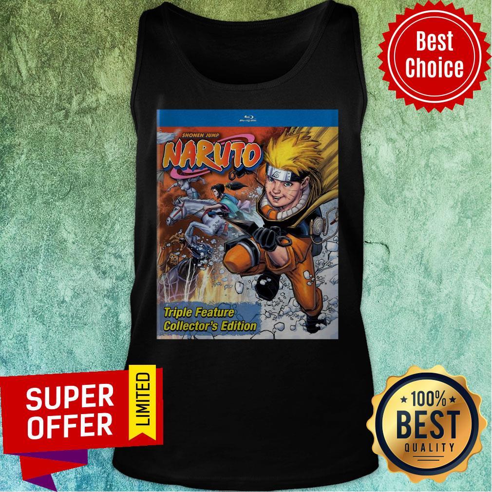 Funny Shonen Jump Naruto Triple Feature Collector's Edition Tank Top