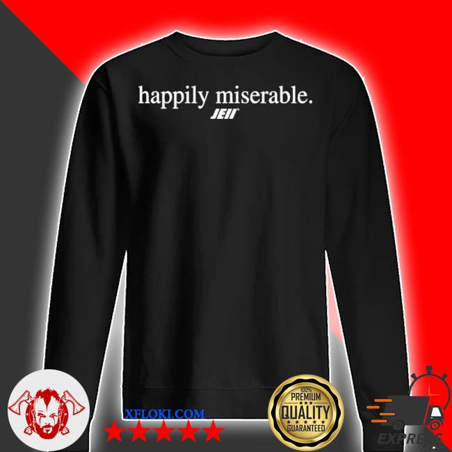 Happily miserable julian edelman s sweater