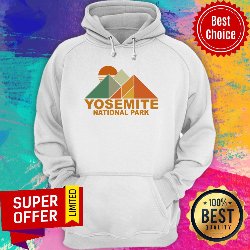 Official Pyramid Yosemite National Park Hoodie