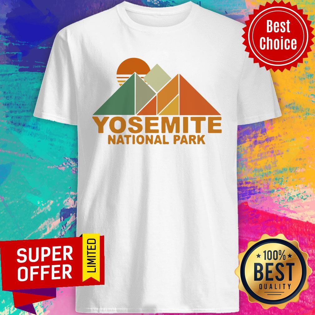 Official Pyramid Yosemite National Park Shirt