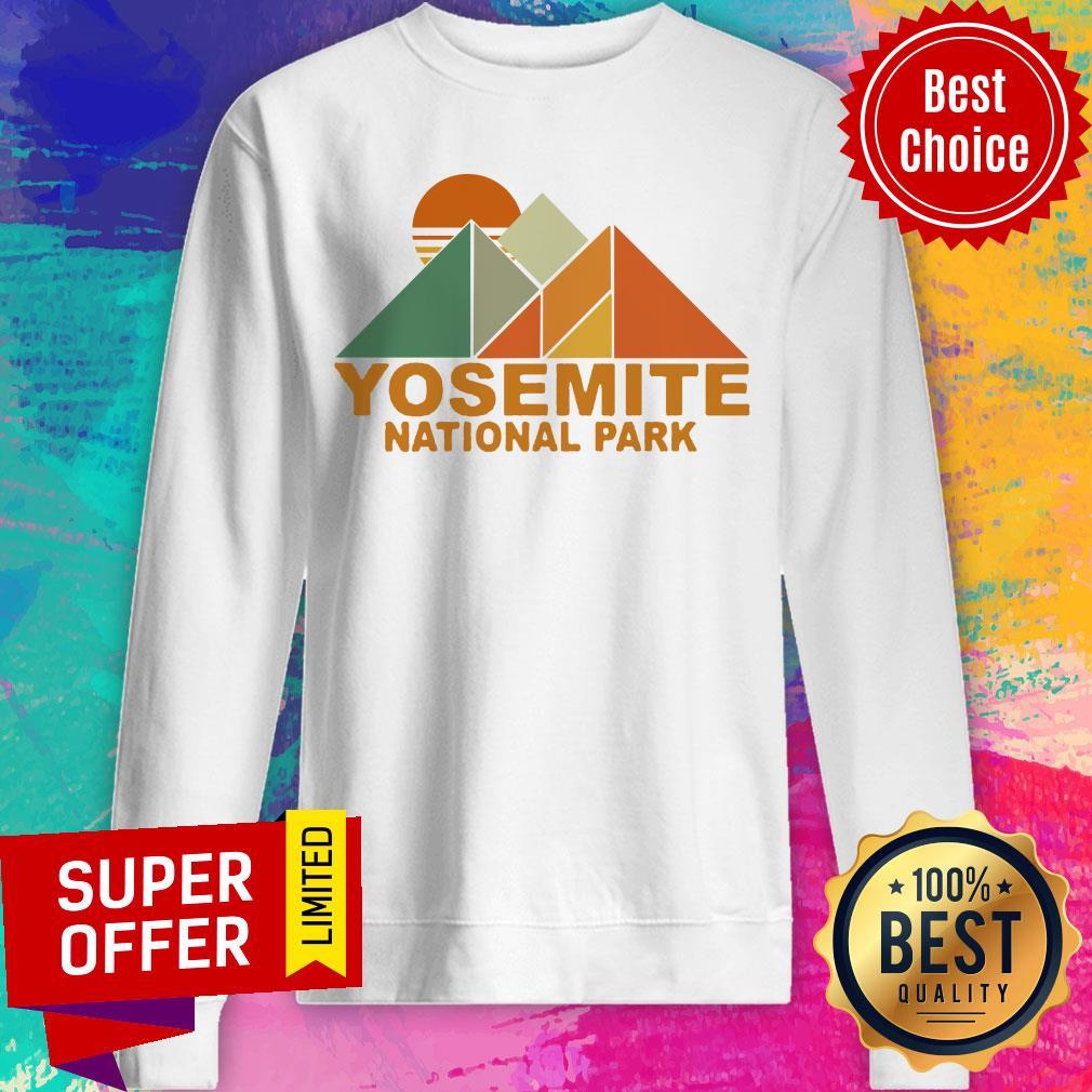 Official Pyramid Yosemite National Park Sweatshirt