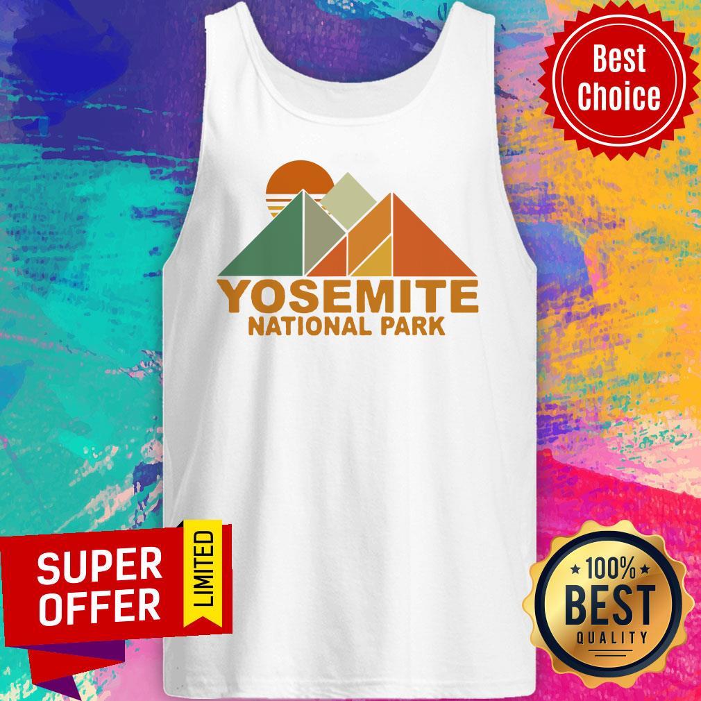 Official Pyramid Yosemite National Park Tank Top
