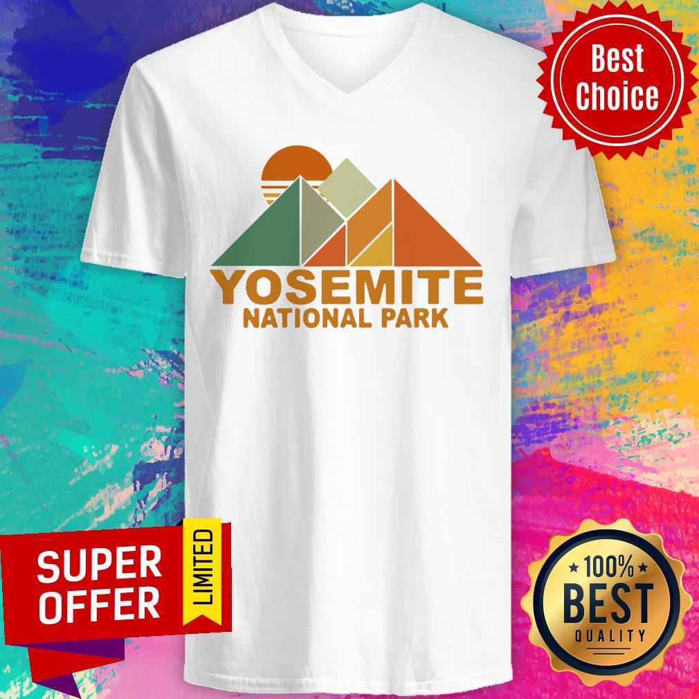 Official Pyramid Yosemite National Park V-neck
