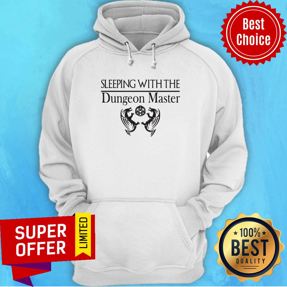 Official Sleeping With The Dungeon Master Hoodie