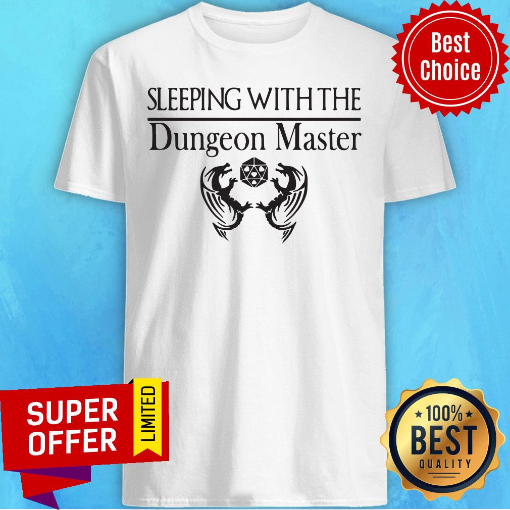 Official Sleeping With The Dungeon Master Shirts