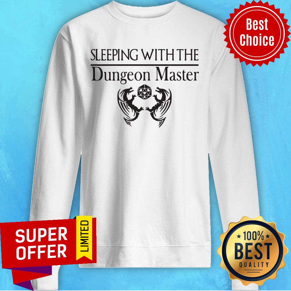Official Sleeping With The Dungeon Master Sweatshirt
