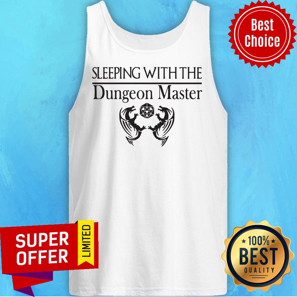 Official Sleeping With The Dungeon Master Tank Top