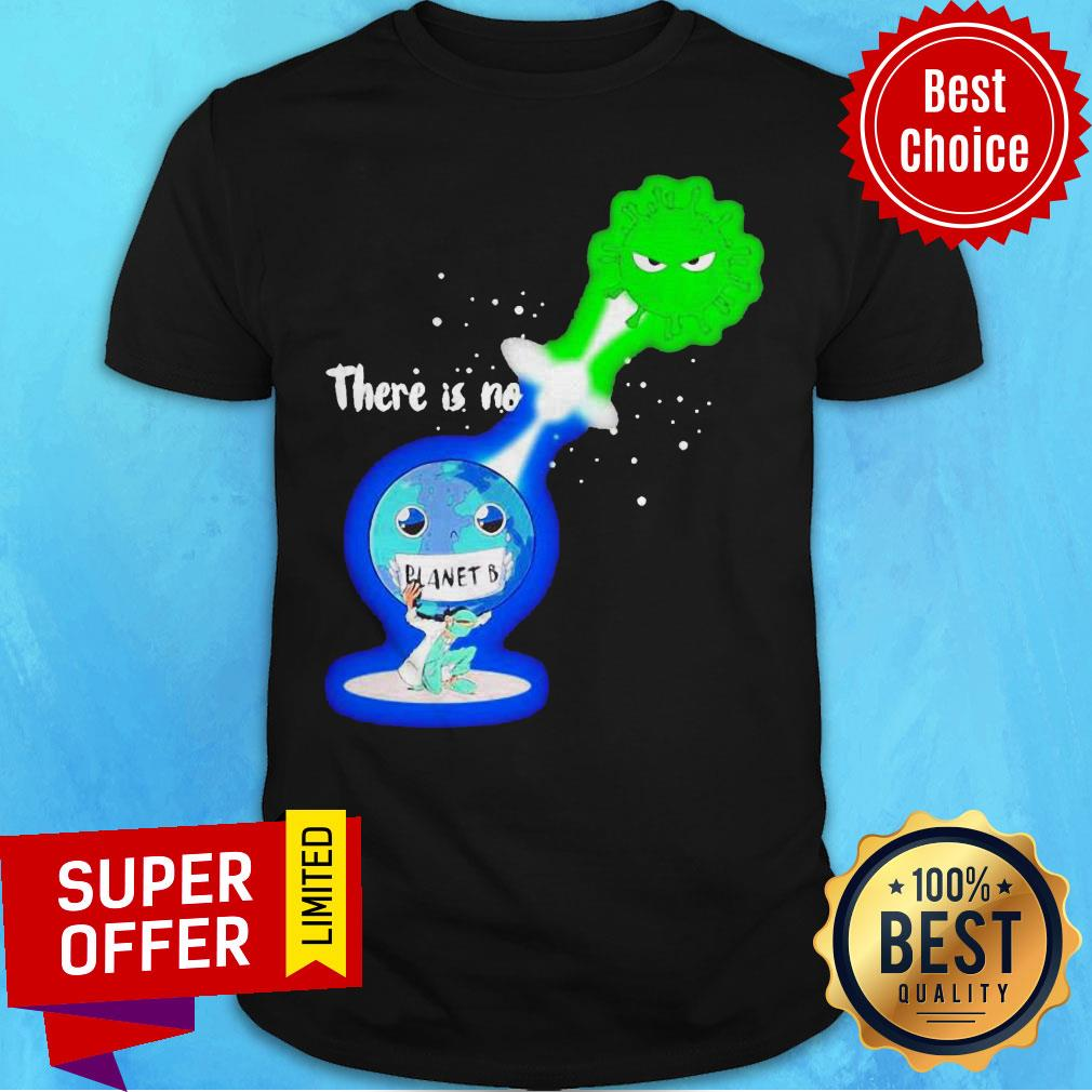 Top There Is No Planet B Kamehameha Covid -19 Shirt