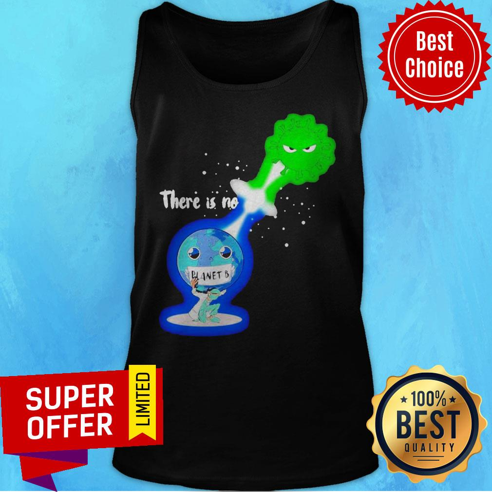 Top There Is No Planet B Kamehameha Covid -19 Tank Top