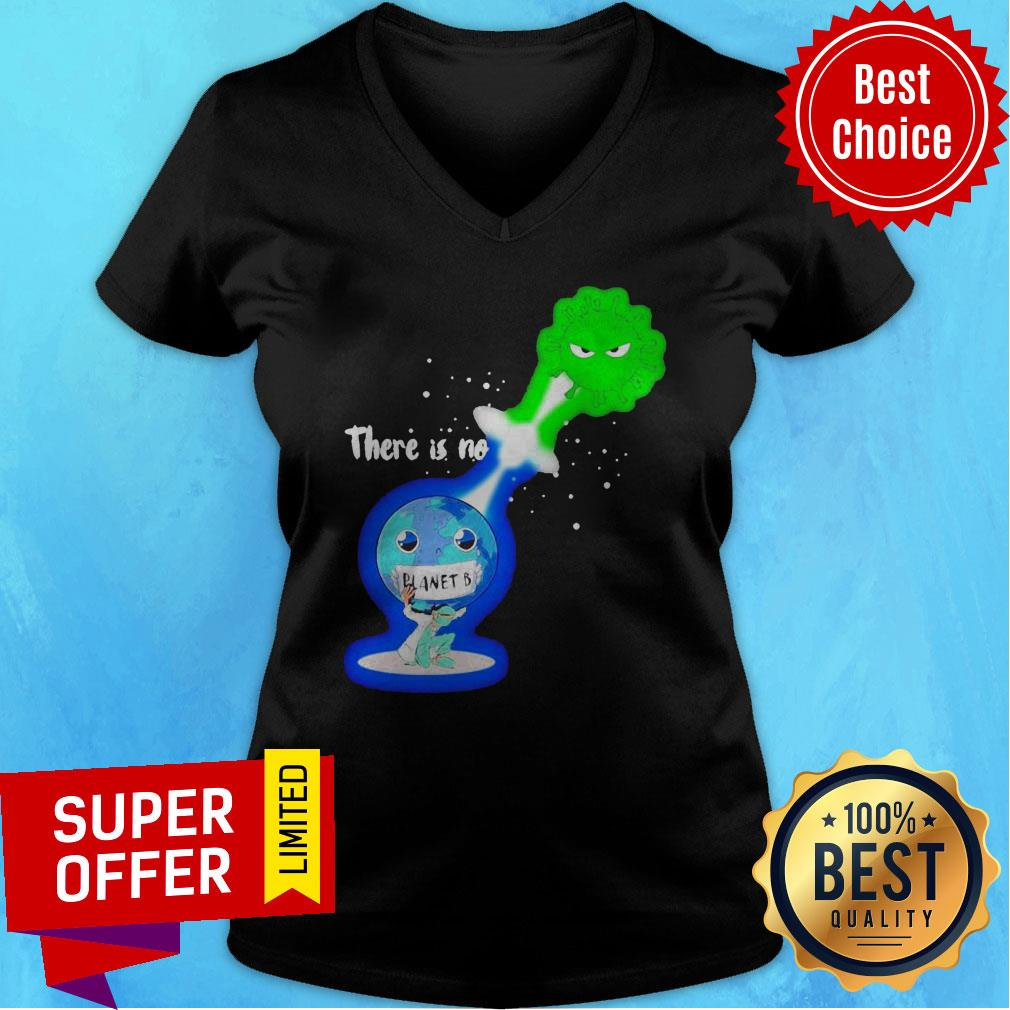 Top There Is No Planet B Kamehameha Covid -19 V-neck
