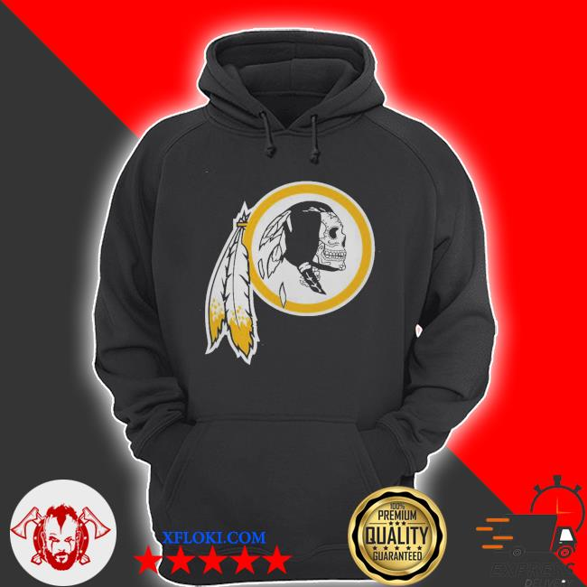 Washington love of sugar skulls and football s hoodie