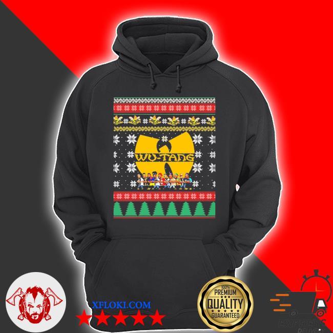 2020 Wu tang ugly christmas sweater hoodie
