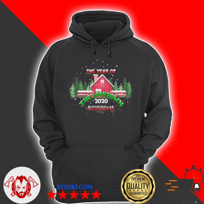 2020 year of the lockdown decorative ugly christmas sweater hoodie
