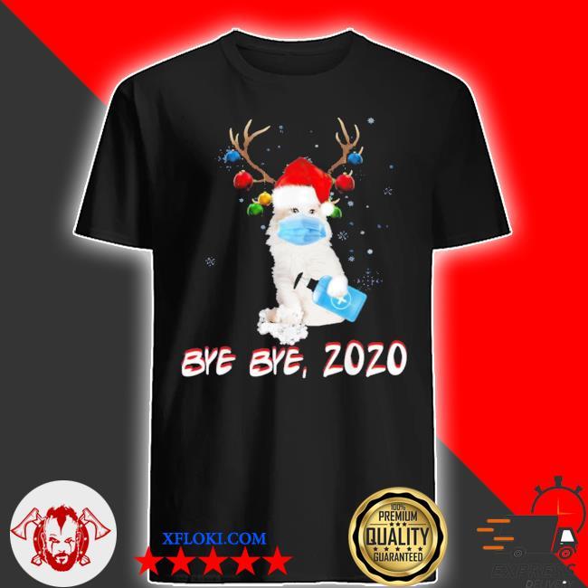 American curl cat bye bye 2020 ugly christmas sweater