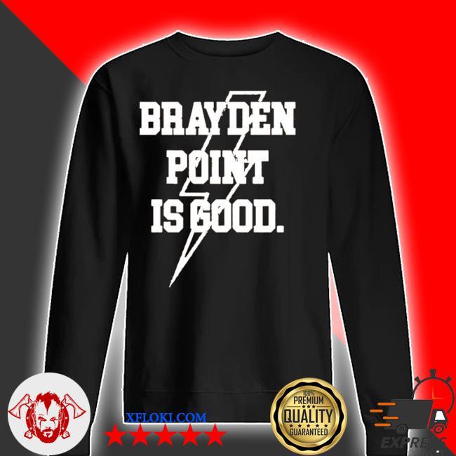Brayden point is good 2020 shirt, hoodie, sweater, long ...