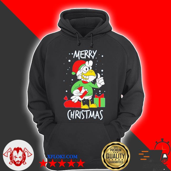 Chicken happy merry christmas ugly sweater hoodie