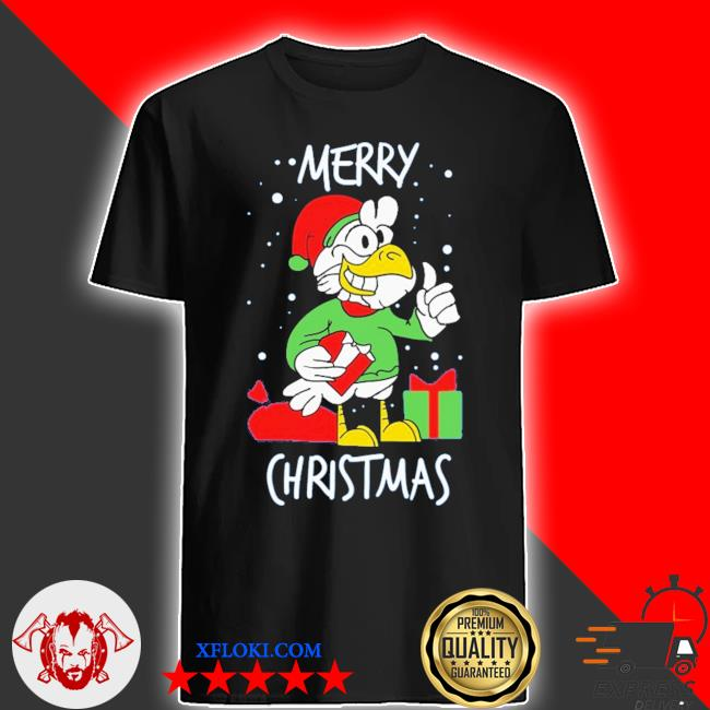 Chicken happy merry christmas ugly sweater