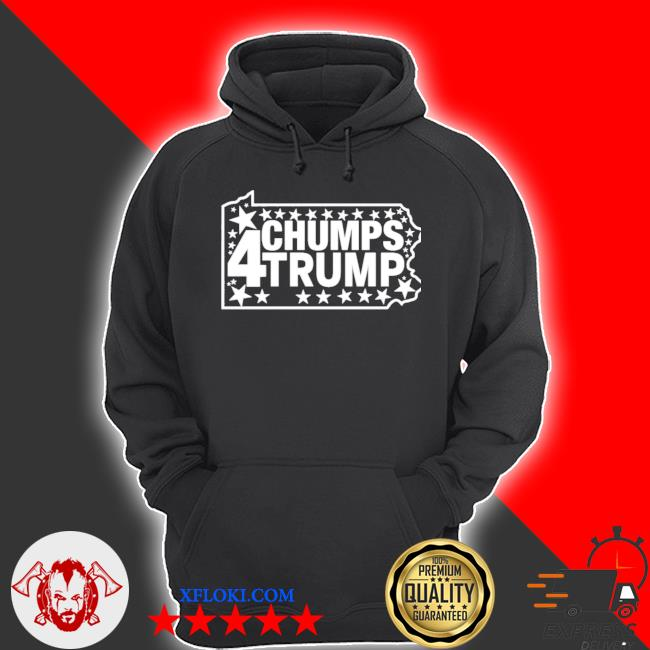 Chumps for trump pa map s hoodie