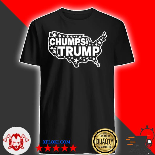 Chumps for trump usa map shirt