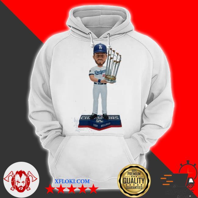 Cody Bellinger Los angeles dodgers 2020 world series champions s hoodie