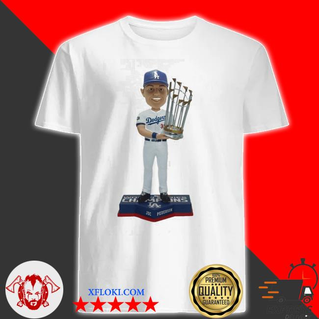 Joc Pederson Los angeles dodgers 2020 world series champions shirt