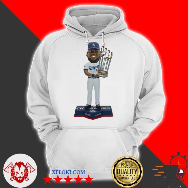 Kenley Jansen Los angeles dodgers 2020 world series champions s hoodie