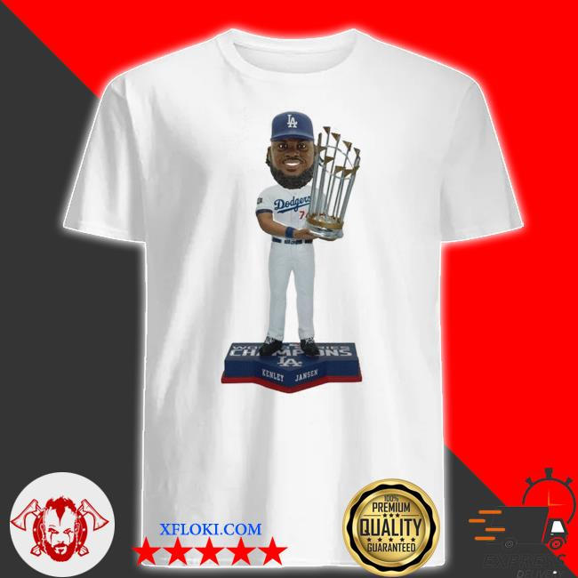 Kenley Jansen Los angeles dodgers 2020 world series champions shirt