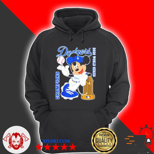 Los angeles dodgers mickey dodgers 2020 world series champions s hoodie
