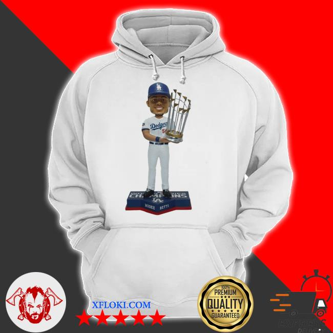 Mookie Betts Los angeles dodgers 2020 world series champions s hoodie