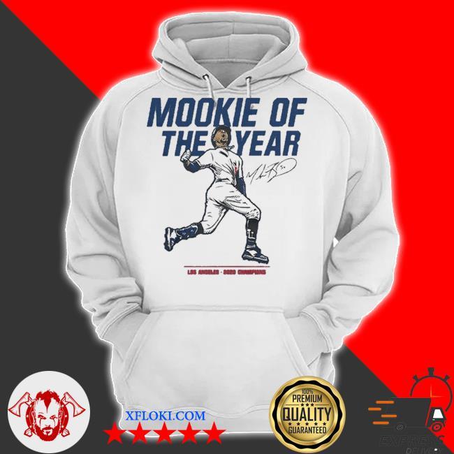 Mookie of the year los angeles 2020 chapions s hoodie