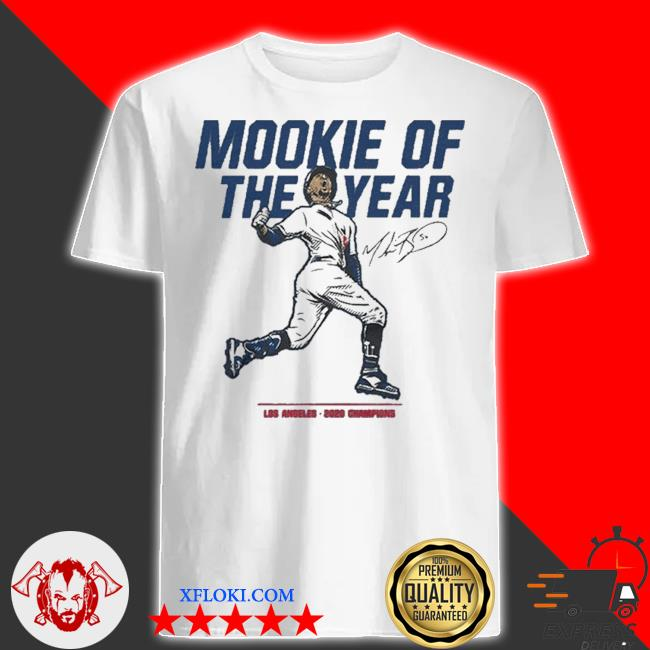 Mookie of the year los angeles 2020 chapions shirt