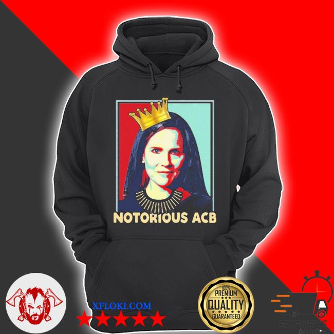 Notorious acb amy coney barrett hope s hoodie