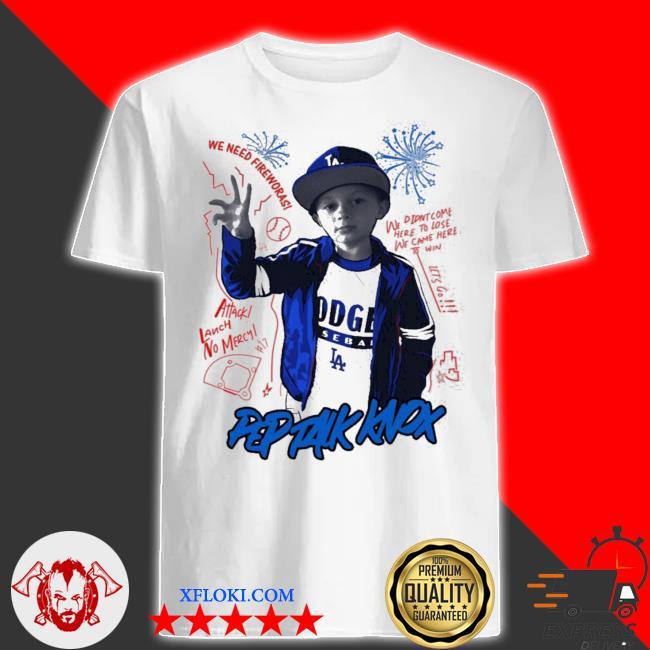 Pep talk knox dodgers shirt