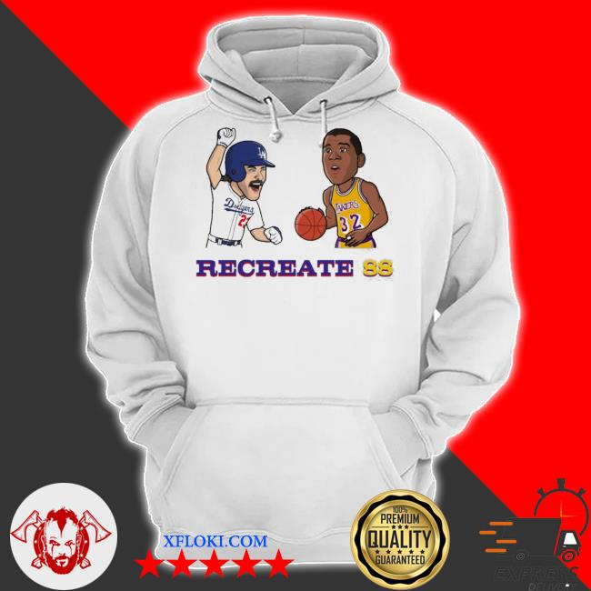 Recreate 88 LA Dodgers s hoodie