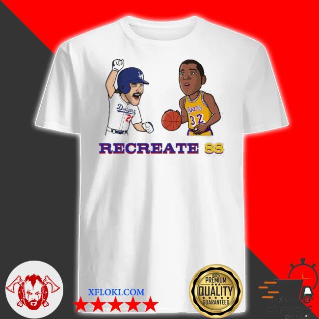 Recreate 88 LA Dodgers shirt