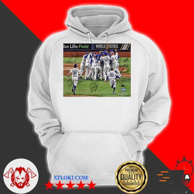 Team los angeles dodgers mlb world series champions 2020 s hoodie
