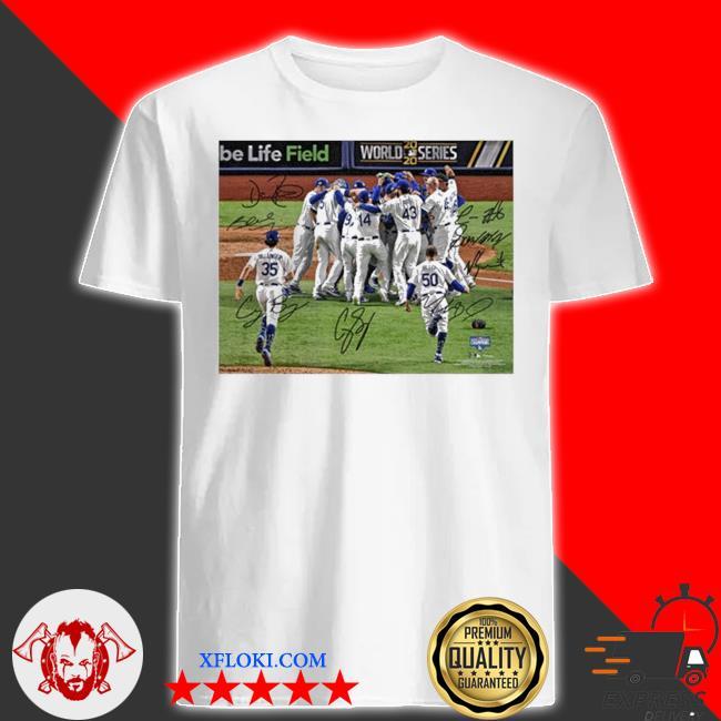 Team los angeles dodgers mlb world series champions 2020 shirt