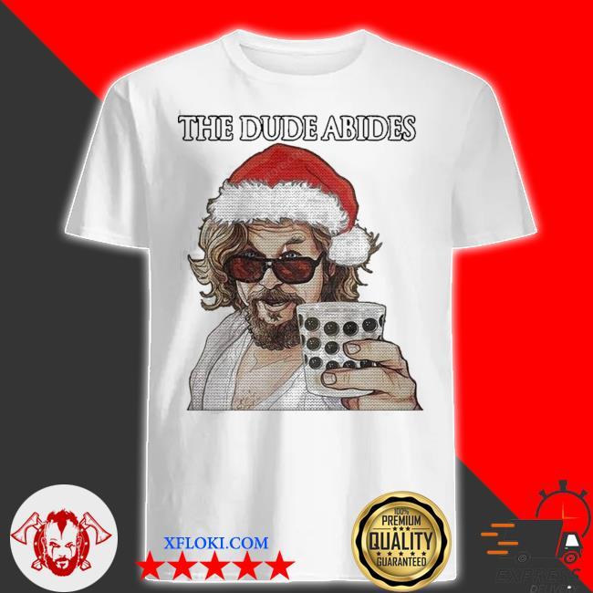 The big lebowski the dude abides ugly christmas shirt