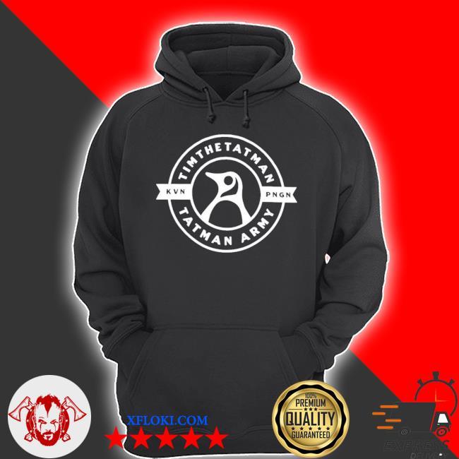 Tim the tatman merch tatman army kevin s hoodie