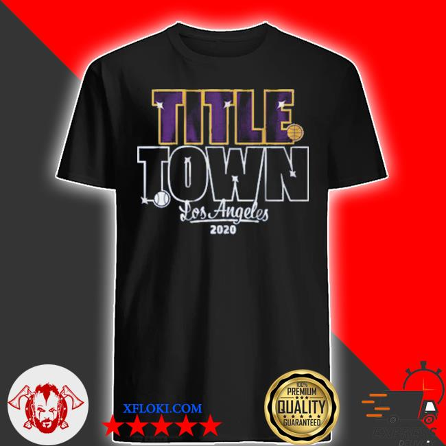 Title town los angeles baseball shirt